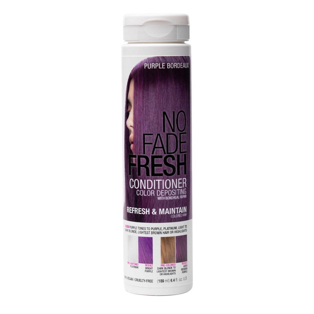 Image of No Fade Fresh Color Depositing Conditioner with BondHeal Repair - Purple