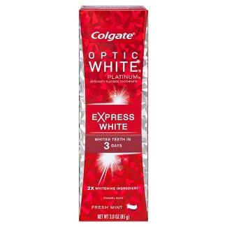 Colgate Optic White Express White Whitening Toothpaste - 3oz