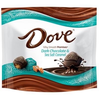 Dove Promises Silky Smooth Dark Chocolate and Sea Salt Caramel - 7.6oz