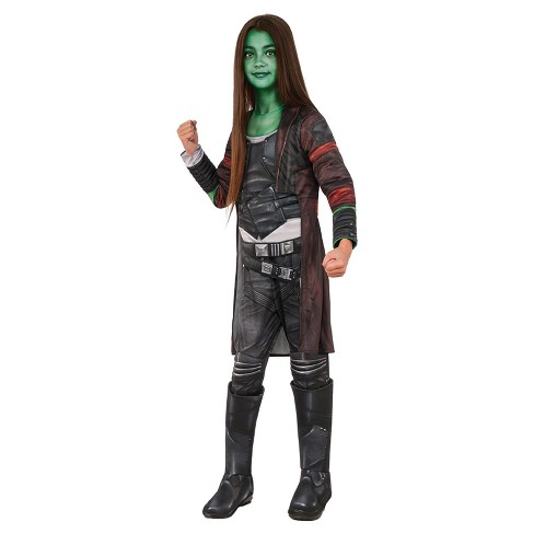 Girls Guardians of the Galaxy Gamora Deluxe Costume - image 1 of 1