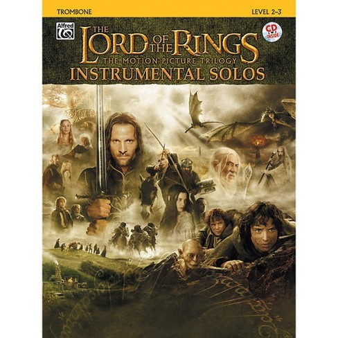 Alfred The Lord of the Rings Instrumental Solos Trombone (Book & CD) - image 1 of 1
