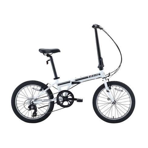 "ZiZZO Campo 7-Speed Aluminum 20"" Folding Bike - White - image 1 of 4"