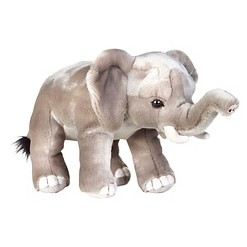 Lelly National Geographic African Elephant Plush Toy