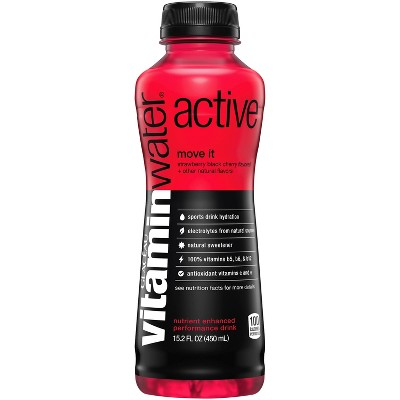 Water: vitamin water active