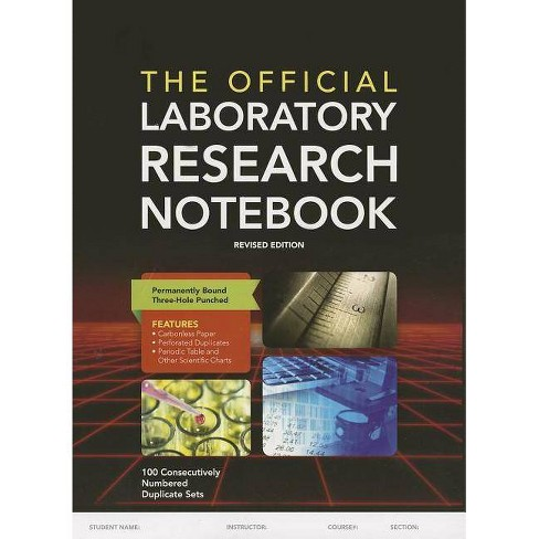 The Official Laboratory Research Notebook - by  Jones & Bartlett Learning (Paperback) - image 1 of 1