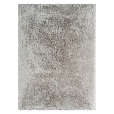 5'X7' Solid Loomed Area Rug Gray - Momeni