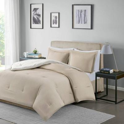 Braydon Reversible Stripe Comforter Mini Set