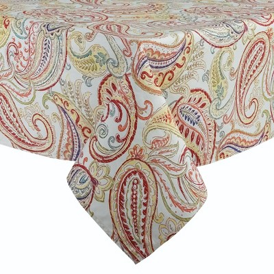 Polyester Paisley Tablecloth - Fiesta
