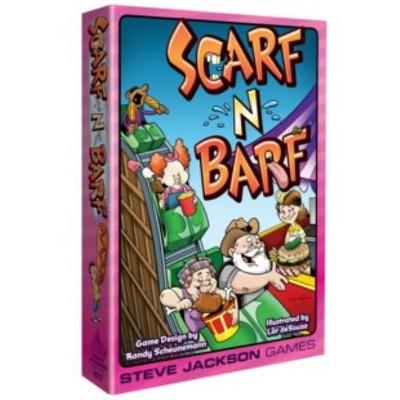 Scarf-N-Barf Board Game