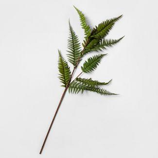 46u0022 Artificial Fern Leaf Stem Green - Threshold™