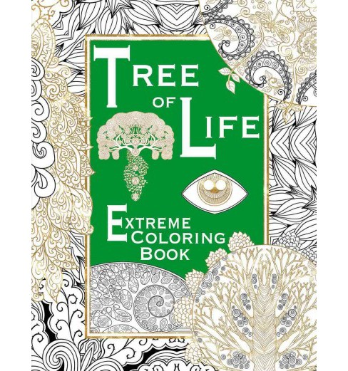 Tree of Life Adult Coloring Book (Paperback) - image 1 of 1