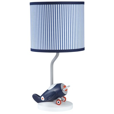 Carter's Take Flight Airplane Nursery Lamp Base and Shade
