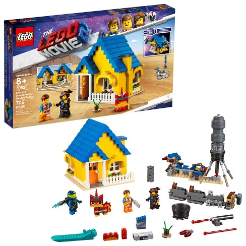 THE LEGO MOVIE 2 Emmet's Dream House/Rescue Rocket! 70831 - image 1 of 4