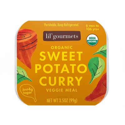 Lil' Gourmets Organic Sweet Potato Curry Baby Meals - 3.5oz