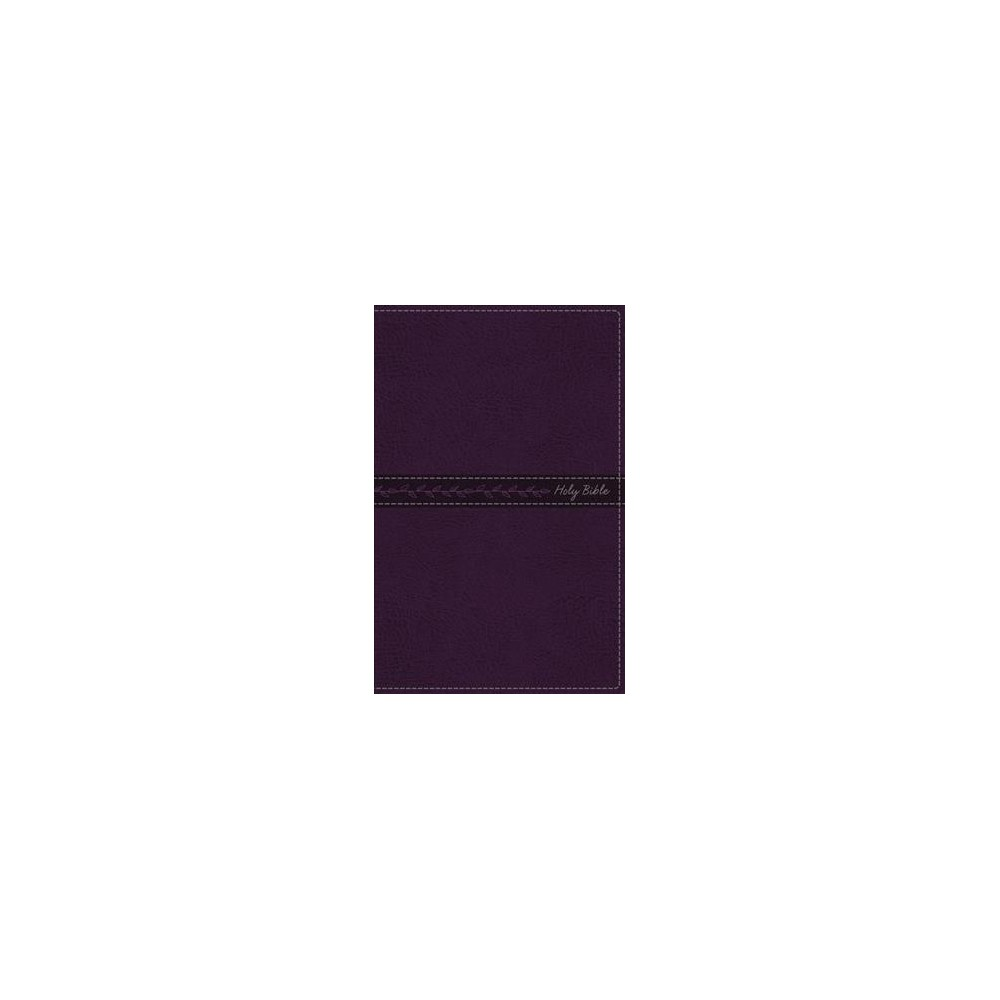 Holy Bible : King James Version, Purple Leathersoft, Thinline Bible: Red-Letter Edition (Indexed)