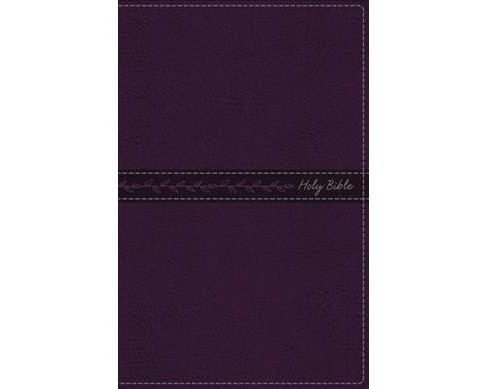 Holy Bible : King James Version, Purple Leathersoft, Thinline Bible: Red-Letter Edition (Indexed) - image 1 of 1