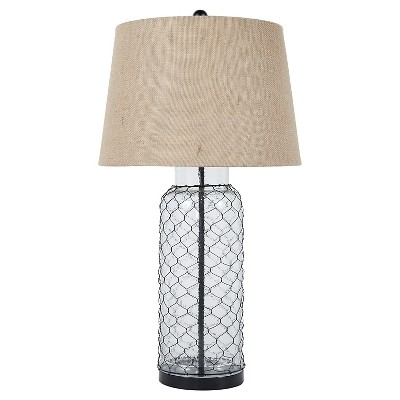 Sharmayne Table Lamp Transparent (Lamp Only)- Signature Design by Ashley