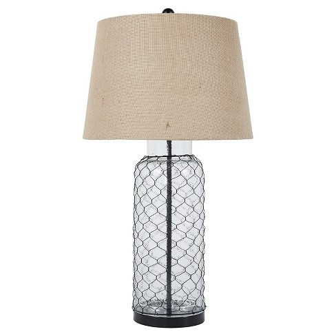Sharmayne Table Lamp Transparent (Lamp Only) - Signature Design by Ashley - image 1 of 2