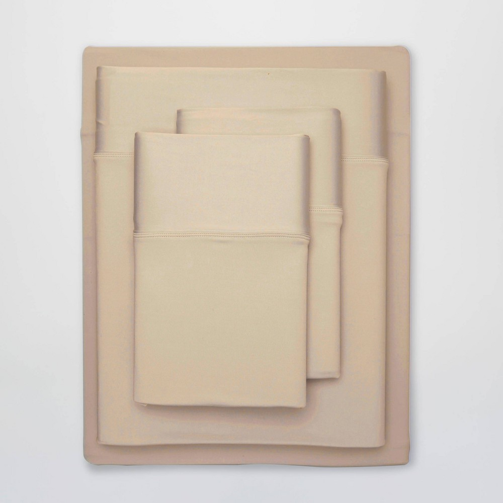 Image of Full Ultra Air Solid Sheet Set Khaki - SHEEX