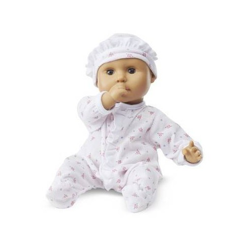 Melissa & Doug Mine to Love Mariana 12-Inch Poseable Baby Doll With Romper and Hat - image 1 of 4