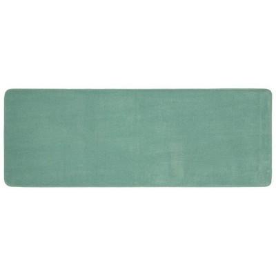 "22""x60"" Bubble Memory Foam Bath Rug Green - Threshold™"