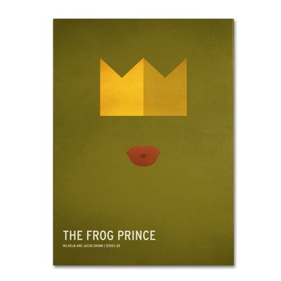 'The Frog Prince' by Christian Jackson Ready to Hang Canvas Wall Art