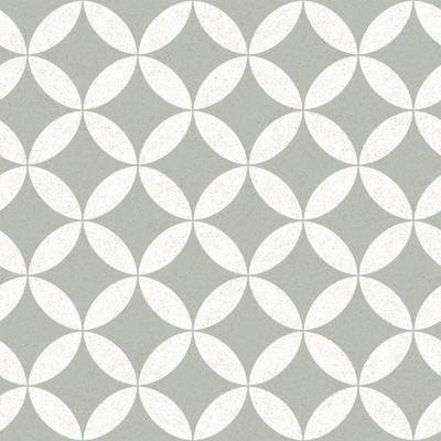 Tempaper Terrazzo Star Stone Self-Adhesive Removable Wallpaper Gray