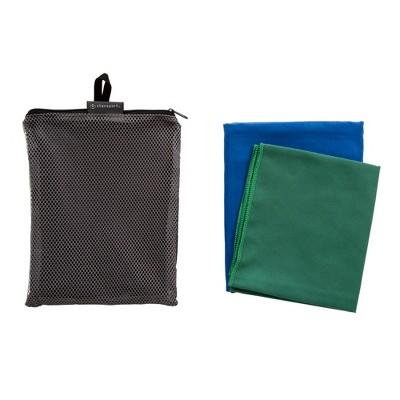 Stansport Fast Dry Microfiber Camp Towel Set 2 Piece