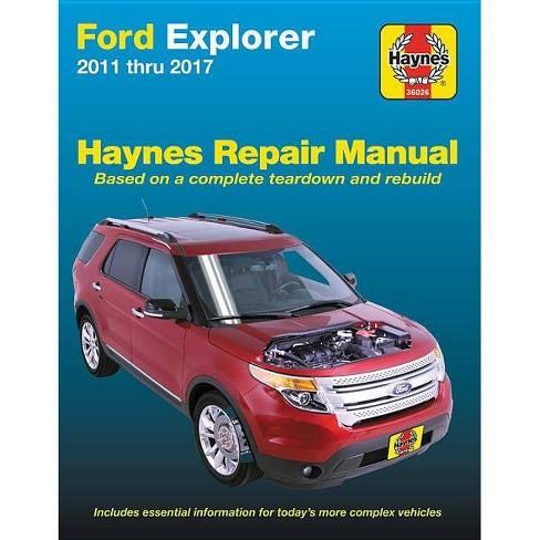 Ford Explorer, '11-'17 - (Haynes Automotive) (Paperback) - image 1 of 1