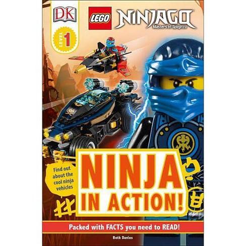 DK Readers L1: Lego Ninjago: Ninja in Action - (DK Readers Level 1) by  Beth Davies (Paperback) - image 1 of 1
