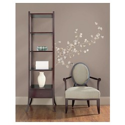 RoomMates Silver Dollar Branch Peel & Stick Giant Wall Decal