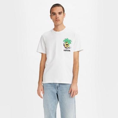 Levi's® Men's Logo Crewneck T-Shirt - Bright White