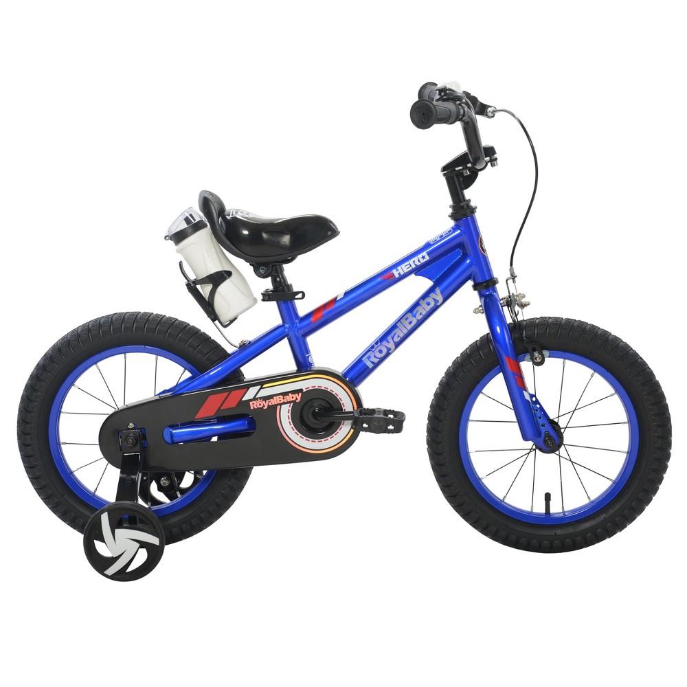 RoyalBaby Kids' Hero 14 Bike - Blue