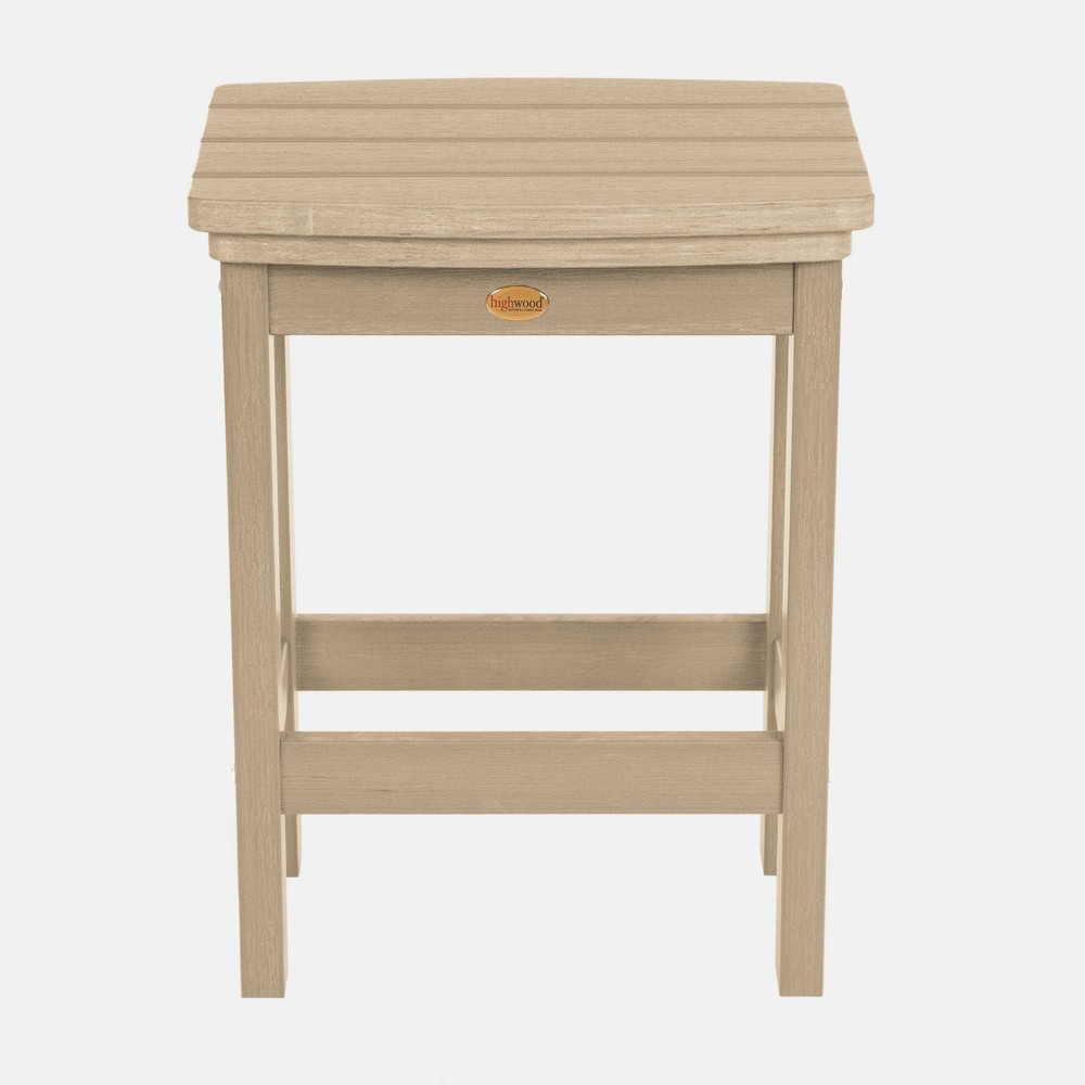 Image of Lehigh Counter Height Patio Stool Tuscan Taupe - highwood