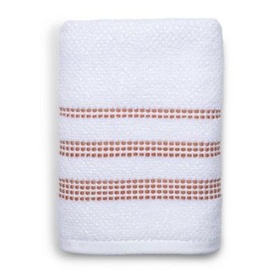 Tribeka Hand Towel White/Natural - Cassadecor