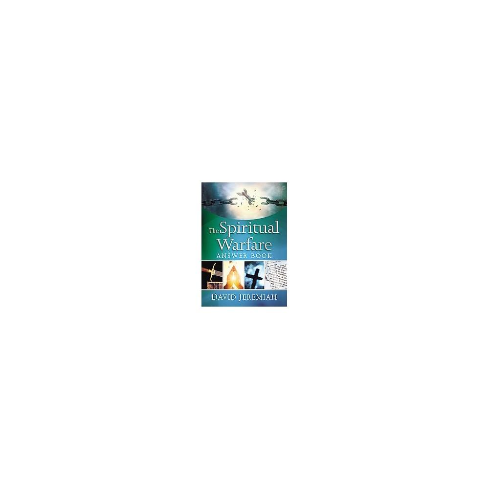 The Spiritual Warfare Answer Book By David Jeremiah Hardcover