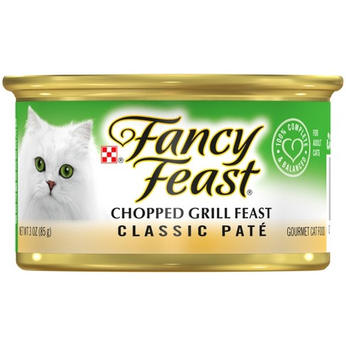 Purina Fancy Feast Classic Chopped Grill Feas Target