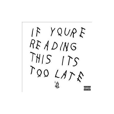 Drake - If You're Reading This It's Too Late (EXPLICIT LYRICS) (Vinyl) - image 1 of 1