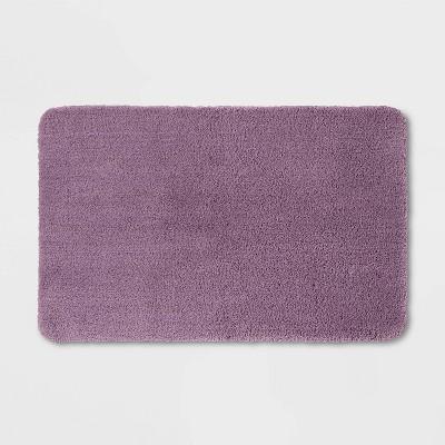 """23""""x37"""" Performance Nylon Bath Rug Lilac Purple - Threshold™"""