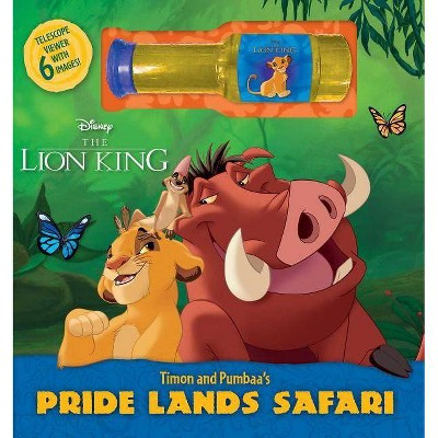 Disney the Lion: King Timon and Pumbaa's Pride Lands Safari - (Deluxe Book Plus) by  Courtney Acampora (Mixed Media Product)