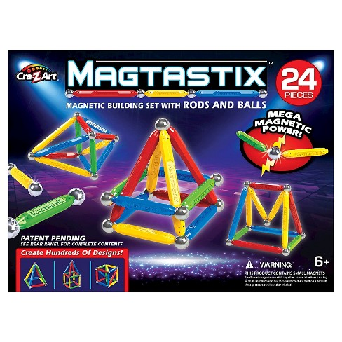 Cra-Z-Art Magtastix Balls and Rods Building Kit - 24 Piece - image 1 of 2