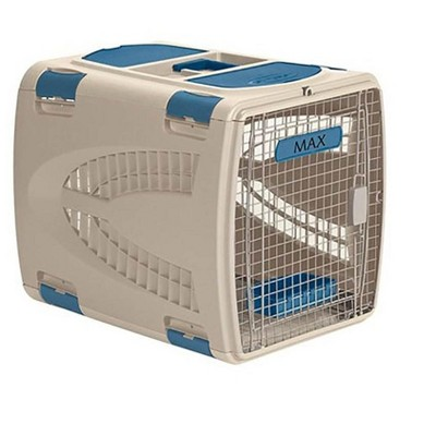 Suncast PCS2417 Small Animal Air or Car Travel Pet Carrier w/ Food & Water Tray