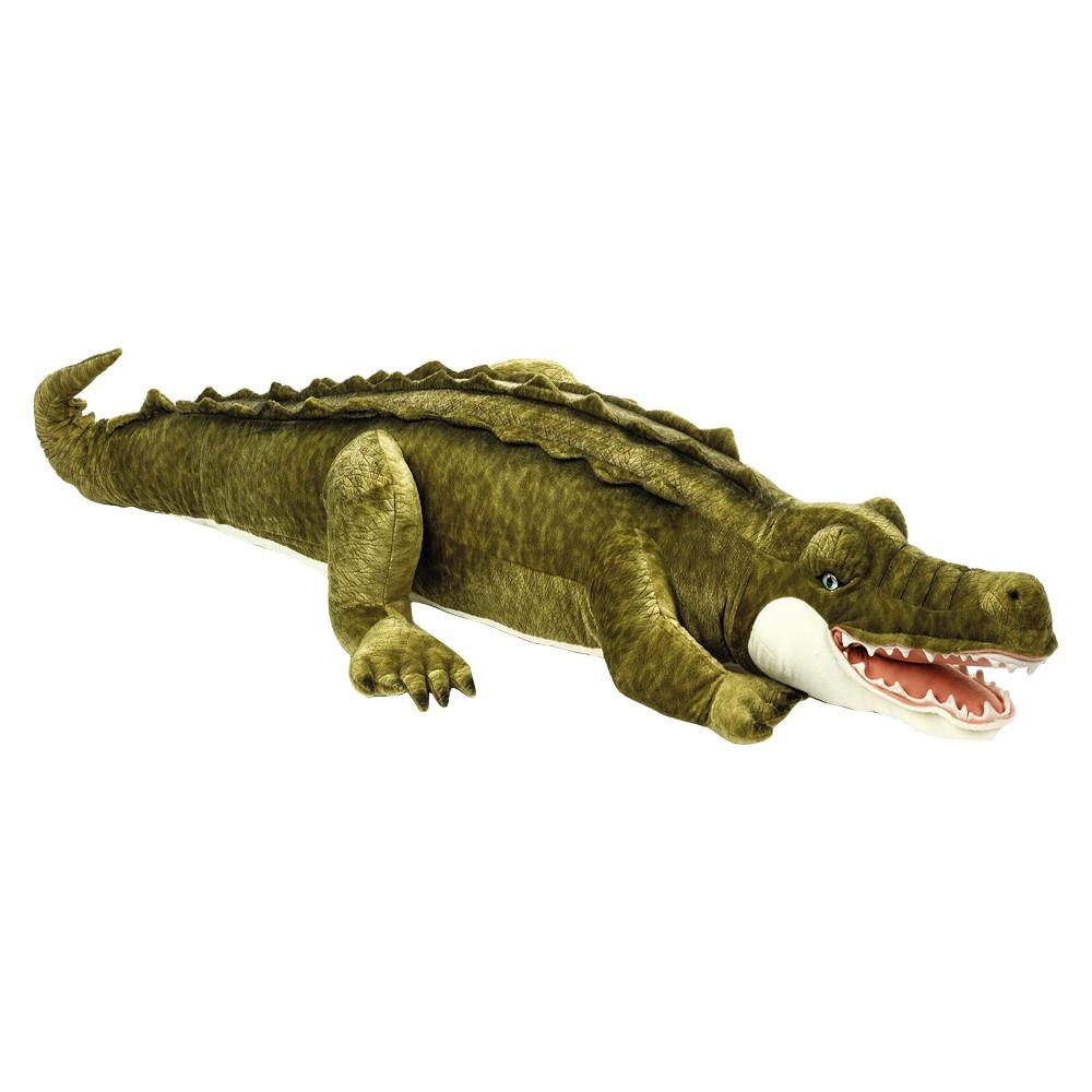 Lelly National Geographic Giant Crocodile Plush Toy