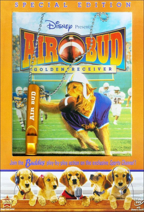 Air Bud: Golden Receiver [WS] [Special Edition] [With Sport Whistle Necklace] - image 1 of 1