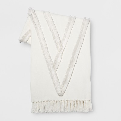 White Moroccan Wedding Oversized End of Bed Throw - Opalhouse™