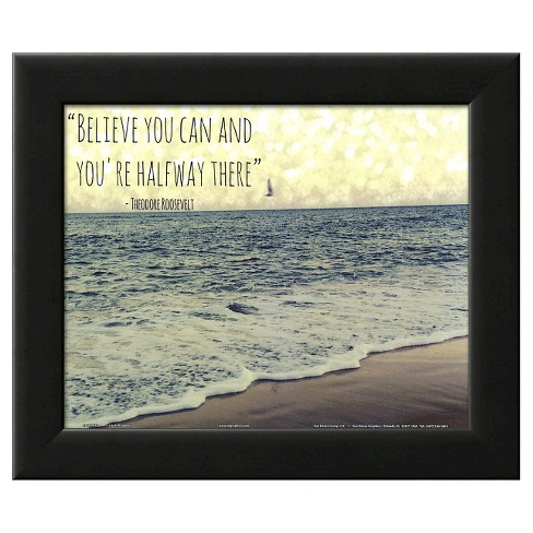 Believe you Can Framed Art Print - image 1 of 3