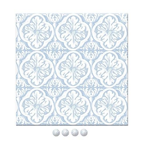 Wall Pops! ® Dry Erase Board - Blue - image 1 of 2