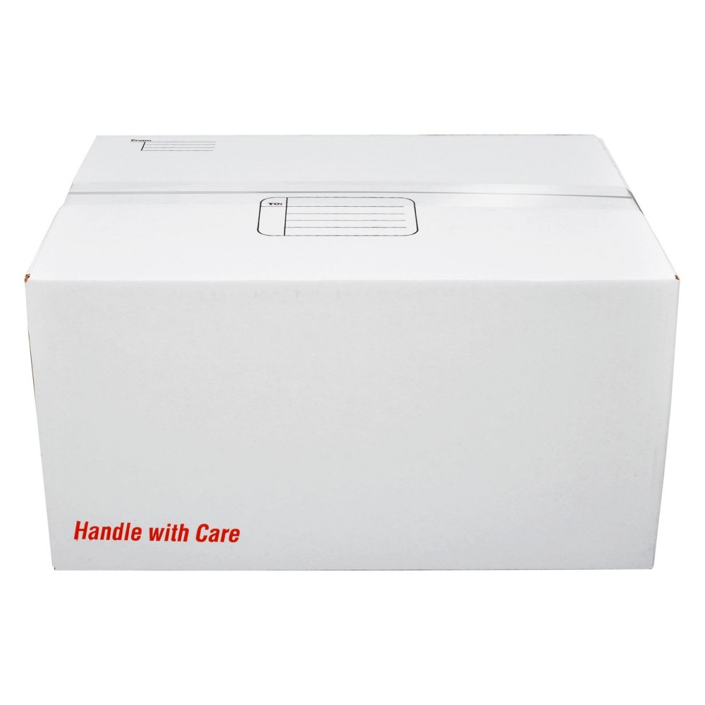 Scotch Mailing Box, X-Large, 16 x 12 x 8, White