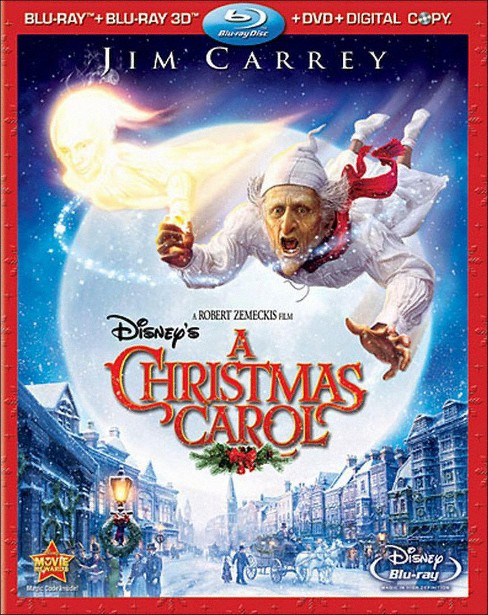 Disney's A Christmas Carol [3D] [4 Discs] [Includes Digital Copy] [Blu-ray/DVD] - image 1 of 1