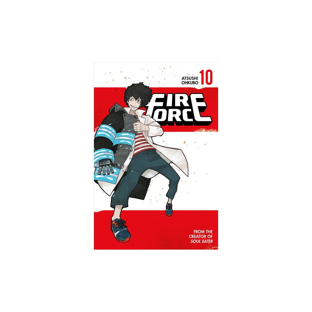 Fire Force 10 - (Fire Force) by Atsushi Ohkubo (Paperback)